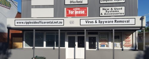 155 Office Front